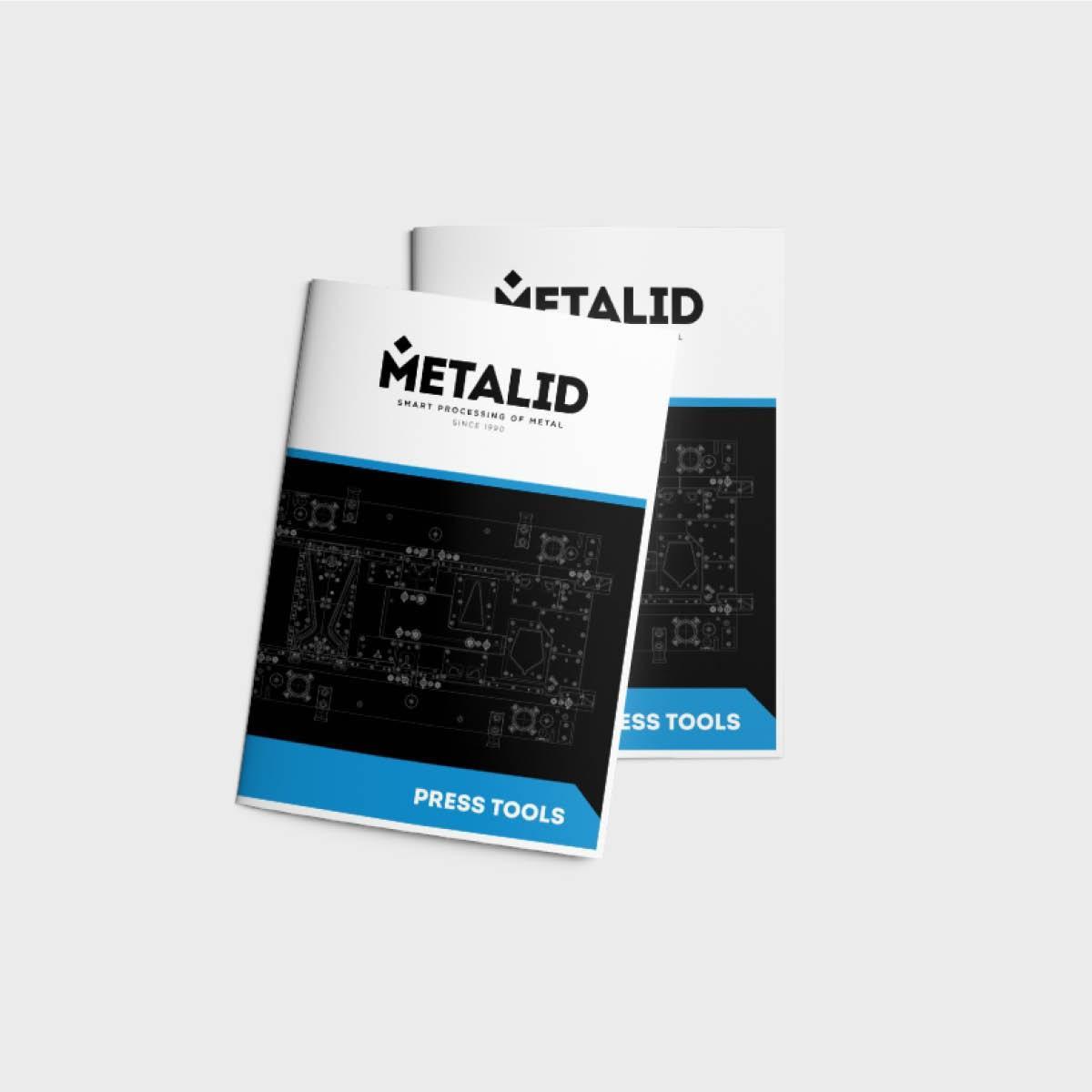 grafično oblikovanje letakov metalid